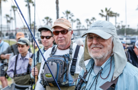 Some of the Southbay Fly Fishing gang. Photo by Jorge Salas.