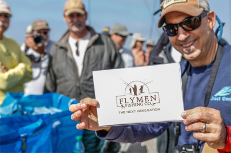 Our friends at Flymen Co. had a give away pack for all contestants. Photo by Jorge Salas.